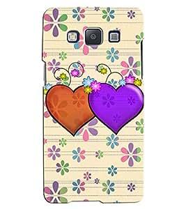 Citydreamz Heart/Love/Valentine/Floral Hard Polycarbonate Designer Back Case Cover For Samsung Galaxy J7