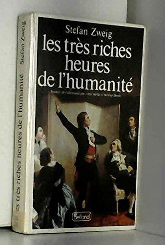Les Très Riches Heures de l'humanité par Stéfan Zweig