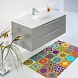 Ambiance-Live col-floor-rv-0561Pegatina Adhesiva, multicolor, 60x 100cm