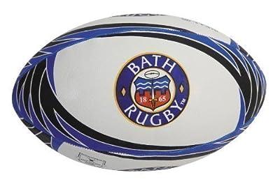GILBERT Bath Replica Supporter Rugby Ball, 5 by Gilbert
