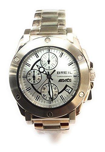 Breil tw0728 - orologio cronografo da polso uomo in acciaio manta
