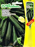 Zucchini Black Beauty (Portion inkl. Stecketikett)