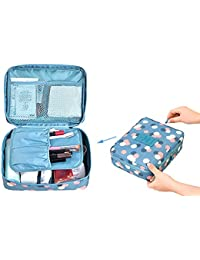 AOQIGN Travel Toiletry Bag Multi-function Portable Cosmetic Makeup Bag