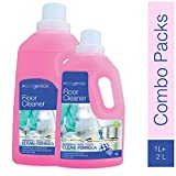 ecogenics Combo of Floor Cleaner - (Pack 0f 2-1 LTR + 2 LTR)