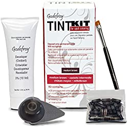 Godefroy Professional Instant Eyebrow, Tint Medium Brown