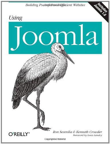 Using Joomla
