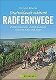 Deutschland Radwege: 25.000 Kilometer und 50 Radwege zwischen Küste und Alpen. Deutschlands schönste Radfernwege. Geheimtipps und Klassiker in einem Radwanderführer; inkl. Höhenprofile, GPS-Tracks