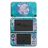 Nintendo New 3DS XL Case Skin Sticker aus Vinyl-Folie Aufkleber Mandala Turtle Schildkröte Muster
