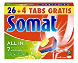 Somat Tabs 7 All in 1 Zitrone und Limette, 7er Pack (7 x 540 g)