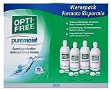 Opti-Free PureMoist, Kontaktlinsen-Pflegemittel, Systempack, 4 x 300 ml -