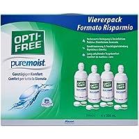 Alcon Opti- Free PureMoist Systempack 4 x 300 ml, 1er Pack (1 x 1.2 l)
