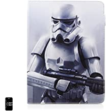 "DAM -Star Wars Funda Tablet 10"" Universal Giratoria 360º Storm Trooper, 100% Original"
