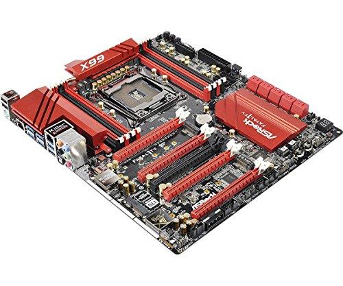ASRock X99 Professional Mainboard Fatal1ty X99 Professional (Intel-X99-Express, DDR4 Speicher, 2X USB 2.0, 6X USB 3.0) Fatal1ty Professional Series