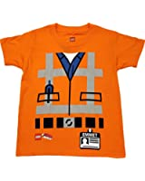 The Lego Movie Emmet Uniform Costume Little Boys' Licensed Graphic T-Shirt
