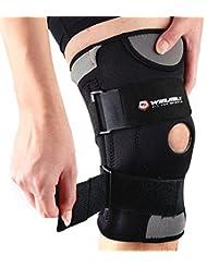 Genouillère Ajustable Non-Slip Winline/Genouillère en Néoprène Respirant de Qualité Médicale pour Protection et Récupération Sportive