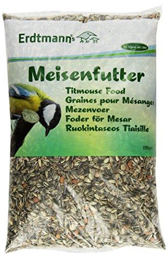 Erdtmanns Graines pour Mésanges pour Oiseaux 2.5KG