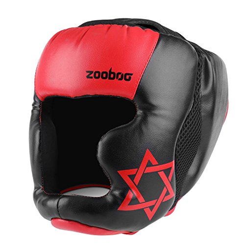 Flexzion MMA Headgear - UFC Muay Thai Kickboxing Artes Marciales Sparring Taekwondo Karate Lucha Deportes...