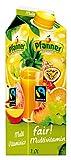 Pfanner Fairtrade Multivitamin Nektar 50%, 8 x 1 l Packung