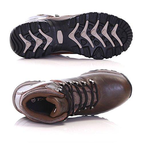 Slimbridge Cribyn bottes de randonnée imperméables pour homme Marron
