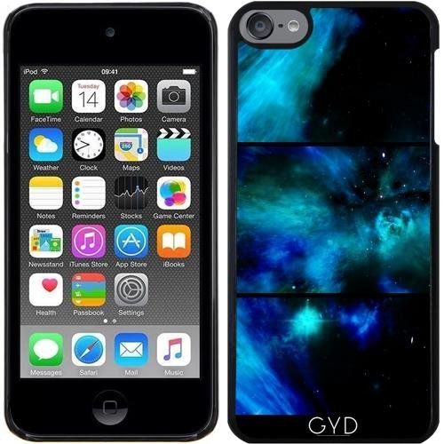 Coque pour Iphone SE - Fenêtres Dans L'espace Bleu Et étoiles by minx267 Plastique Rigide