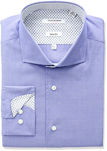 isaac-mizrahi-mens-slim-fit-end-on-end-cut-away-collar-dress-shirt-blue-155-neck-32-33-sleeve