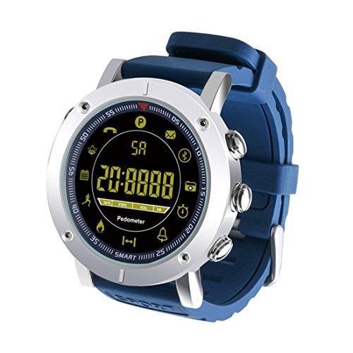 Smart Watch Professional Remote A Prueba De Agua Smartwatch Fitness Smart-Watch Soporte De Larga Espera,Blue