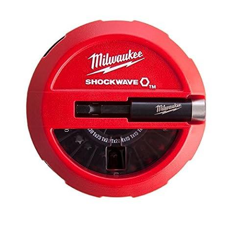 Milwaukee SHOCKWAVE Gen II Bit Set, 15pièces, 1Pièces, 4932430904