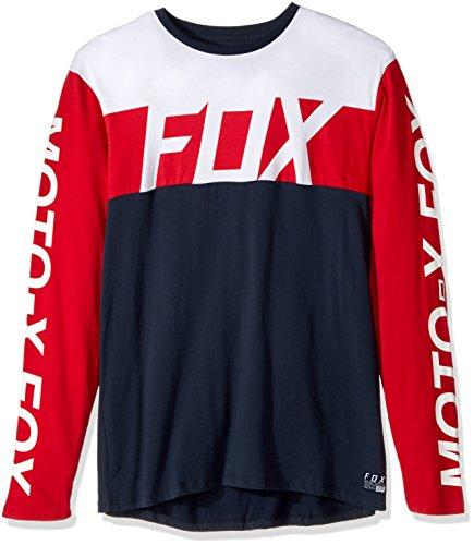 Fox Herren Langarmshirt Scramblur Airline T-Shirt LS Fox Racing Airline