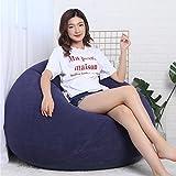 Asdomo Premium Sitzsack Aufblasbare Beanless Beutel, Lounge-Stuhl Sofa Couch-Lakeside Liege Sessel für Innen und Außen, die Terrasse, Hof, Camping, Angeln, Picknickdecke und Musik-Festivals