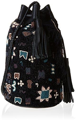 Antik Batik Cody 1B, Borsa a spalla donna Nero
