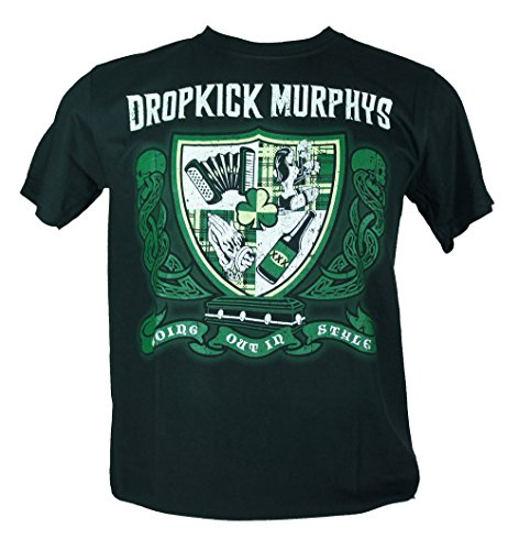 Dropkick Murphys - Maglietta da uomo nero Going Out in Style Double Extra Large XXL