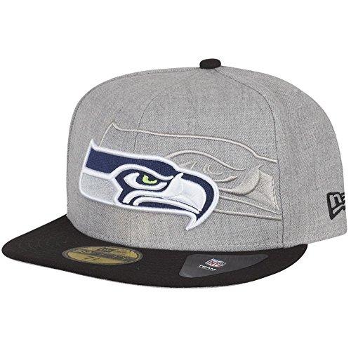 New Era 59Fifty Cap - SCREENING III Seattle Seahawks - 7 3/8 -
