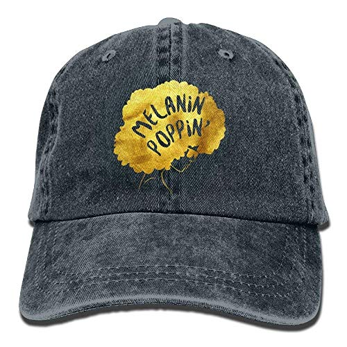 Preisvergleich Produktbild Wfispiy Melanin Poppin Denim Hat Adjustable Men Great Baseball Caps X1326