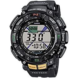 Casio Reloj Digital para Hombre con Correa de Resina – PRG-240-1ER