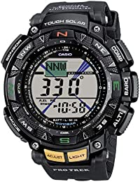 Casio Men's Digital Watch with Resin Strap PRG-240-1ER