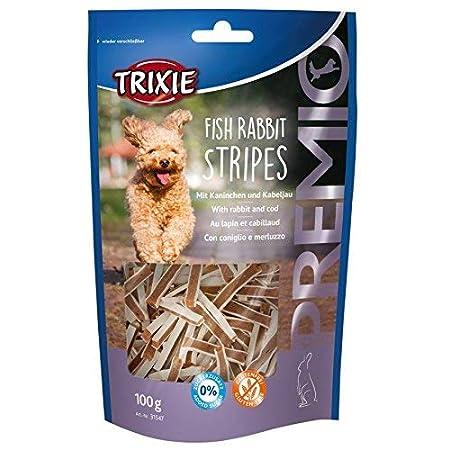 Trixie 31547 PREMIO Fish Rabbit Stripes, 100 g