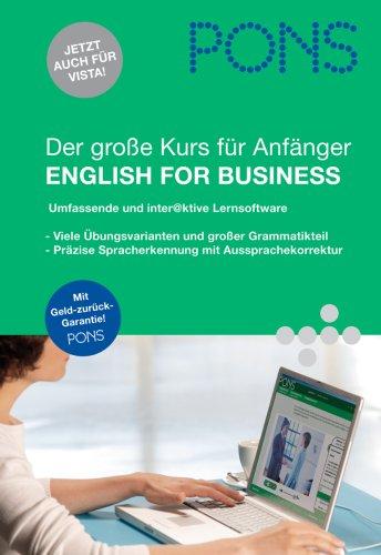 PONS Der große Kurs für Anfänger English for Business