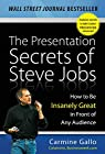 The Presentation Secrets of Steve Jobs: How to Be Insanely Great in Front of Any Audience par Gallo