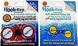Hook-Eze Combo–1x New größere Modell Reef & Blau Wasser + 1x Original Modell River & Coast Modell Sicher Angeln Haken Hülle & Knoten binden Werkzeug, Rot, gelb