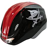 Kinderhelm Meggy Capt´n Sharky Black Red Größe M 52 - 58 cm