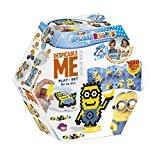 CRAZE- Cuentas de fusibles Fuse Splash BEADYS Minions Play Set Water Beads Juguete Craft Kit para niños 56951
