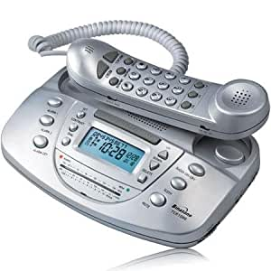 binatone tcr 1000 silver telephone am. Black Bedroom Furniture Sets. Home Design Ideas