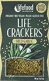 lifefood Life Crackers Bärlauch, 4er Pack (4 x 90 g)