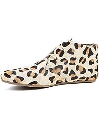 Sloggers 5106LE07, Damen Clogs & Pantoletten braun leopardenmuster Größe 7