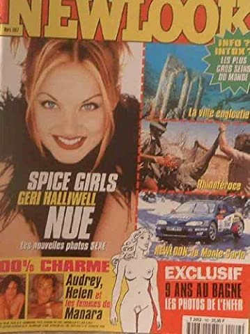 NEWLOOK - Spice GIRLS Geri Halliwell nue -