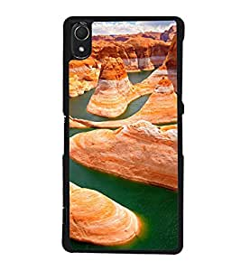 printtech Grand Canyon Nature View Back Case Cover for Sony Xperia Z3 , Sony Xperia Z3 D6653 D6603