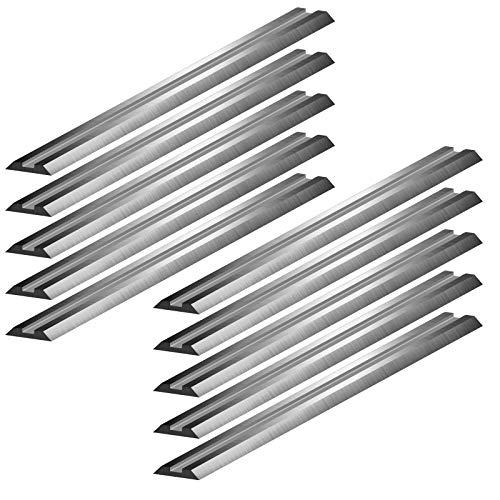 HSS Wendemesser 82 x 5,5 x 1 mm Ersatzmesser für Elektrohobel (10)