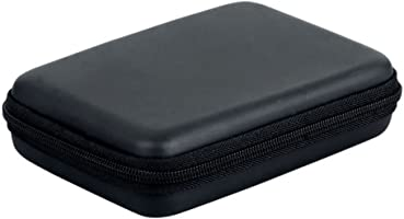 "Angelo Caro(TM)Funda rígida con cremallera para disco duro portátil (2,5"")"