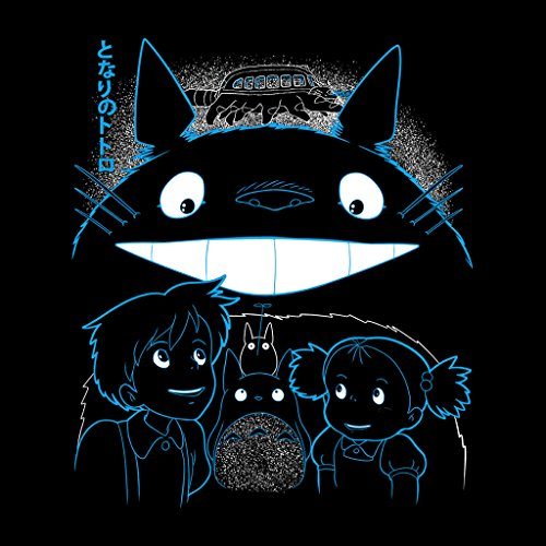 My Neighbour Totoro Sleepy Spirit Womens Vest Black