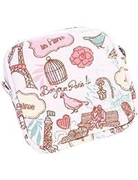 Pink : Kingko Women Girl Cute Sanitary Pad Organizer Holder Sanitary Pad Portable Storage Bag Napkin Towel Convenience...